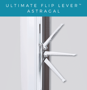 Flip lever astragal demonstration.