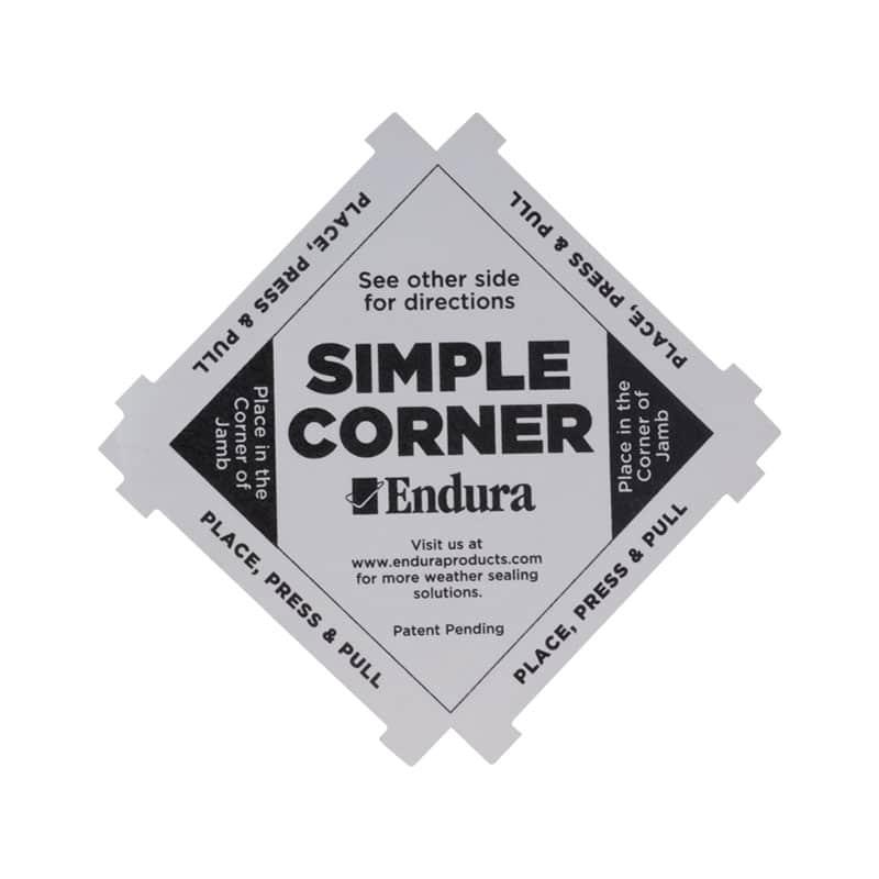 Endura Simple Corner Weathersealing Solutions